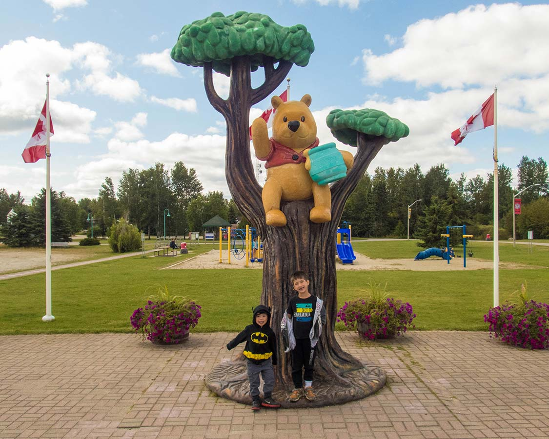 Winnie The Pooh in White River Ontario