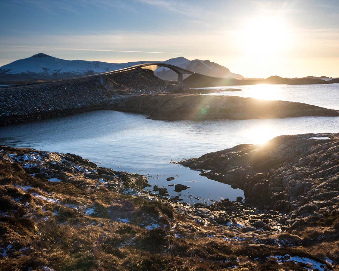 Hurtigruten Excursion Atlantic Highway