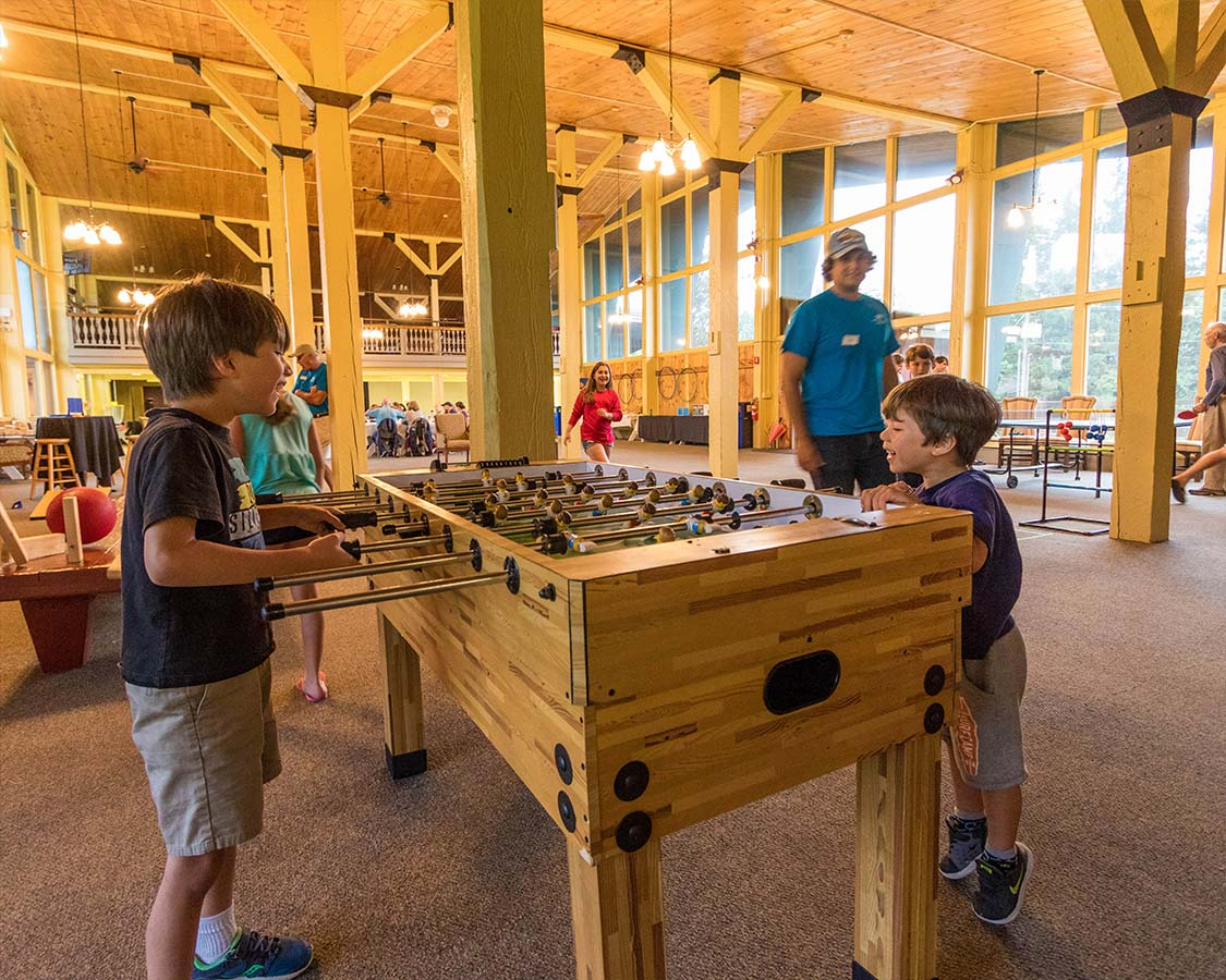 Mount Snow Family Camp Games