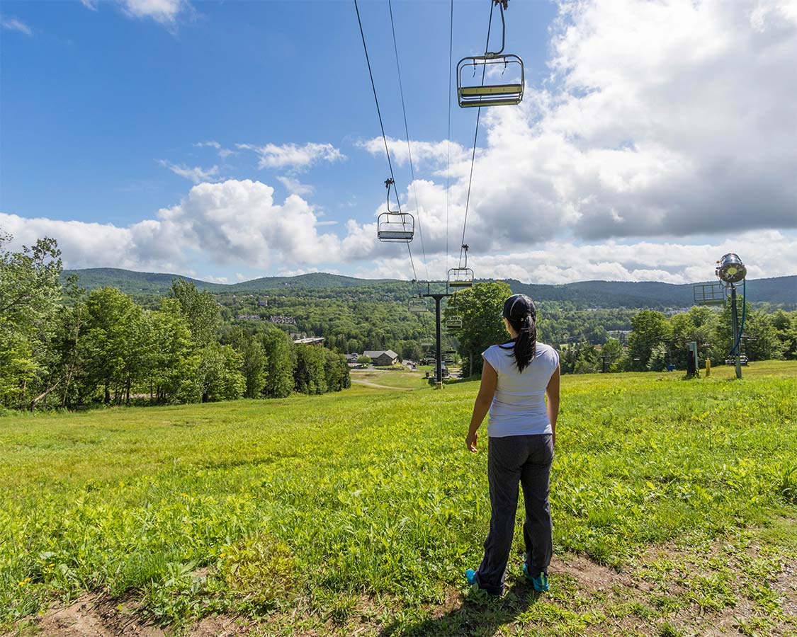 Mount Snow Family Camp Hiking