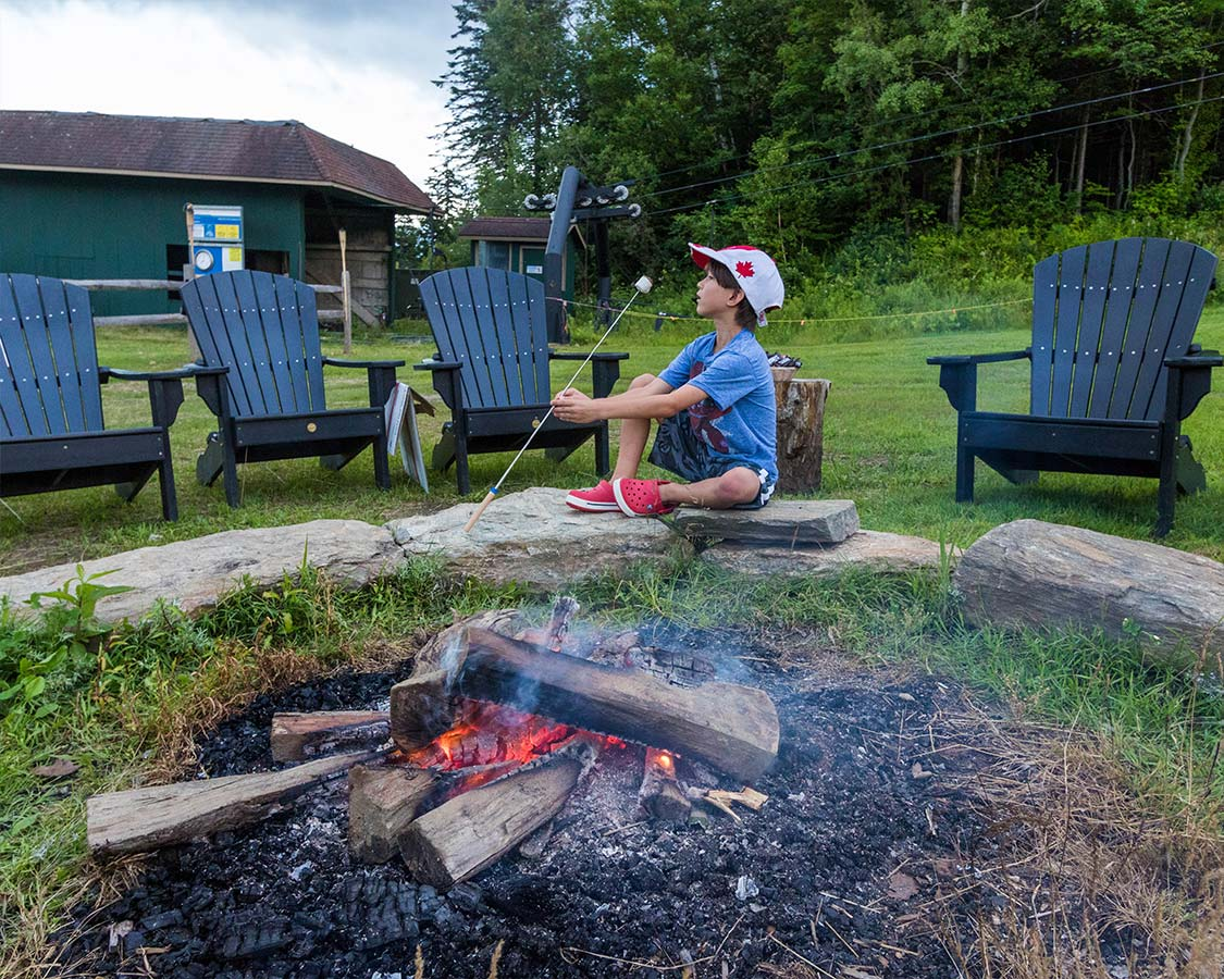 Smores at Mount Snow Family Camp