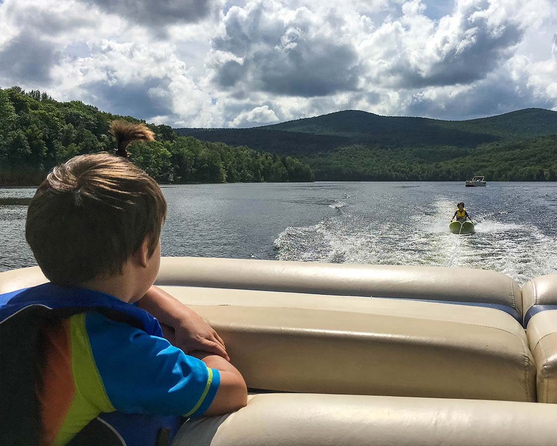 Water Sports at Mount Snow Family Camp