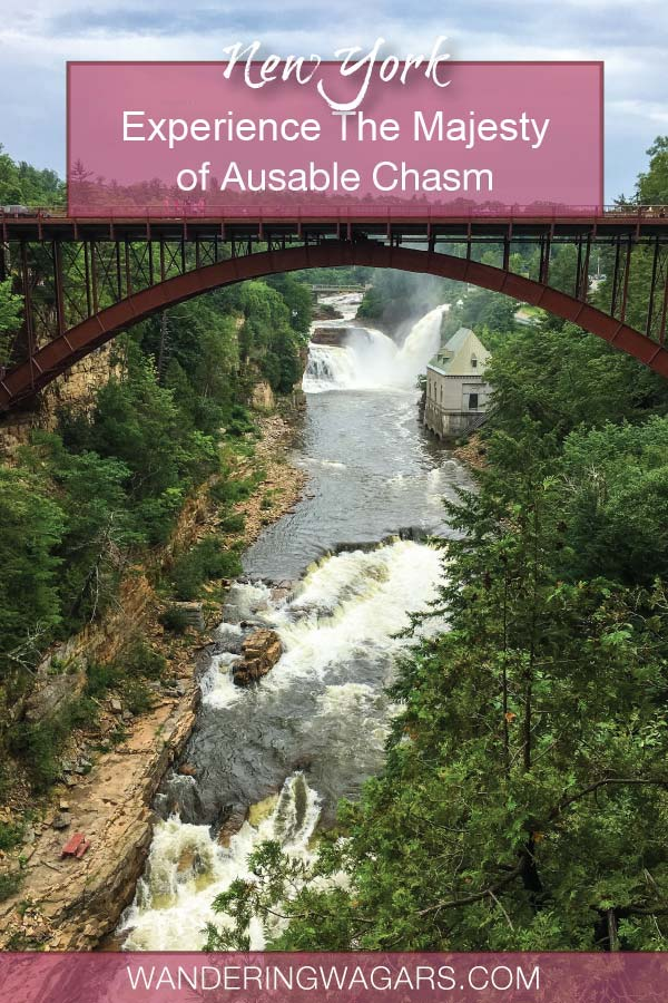 Thinking of visiting Ausable Chasm New York, the Grand Canyon of the Adirondacks? Discover how to get there and the best things to do at Ausable Chasm NY