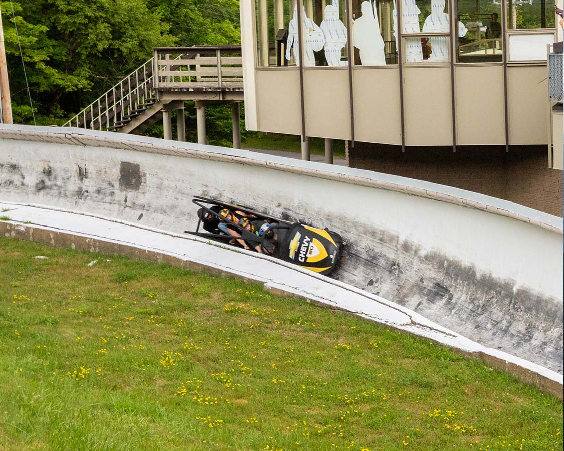 Top Lake Placid Activities Olympic Bobsled Run