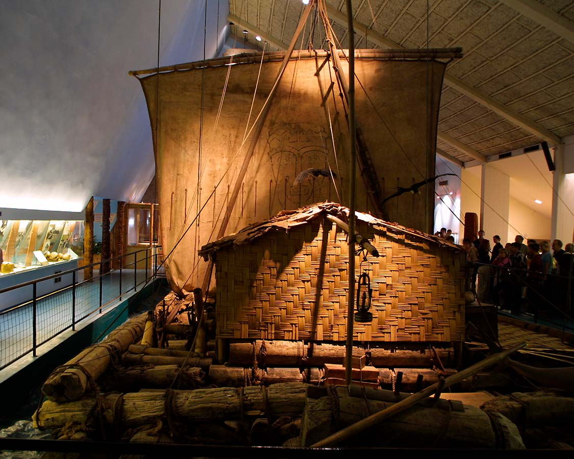36 hours in oslo with kids Kon Tiki Museum