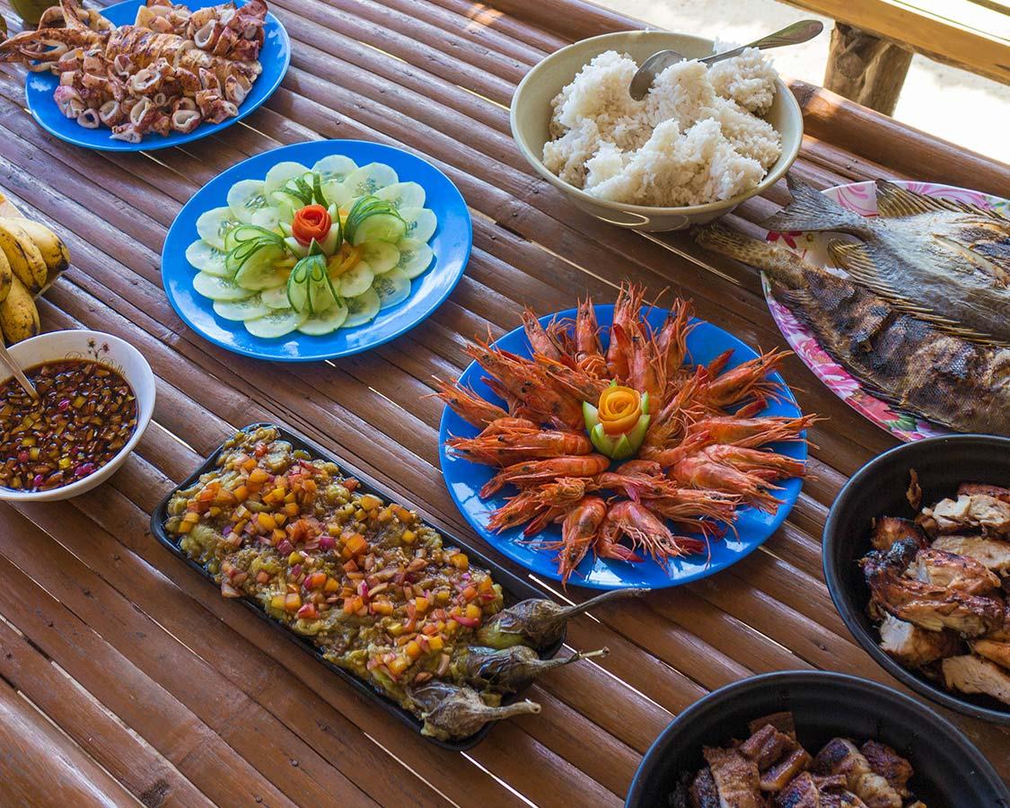 Coron Island Philippines food