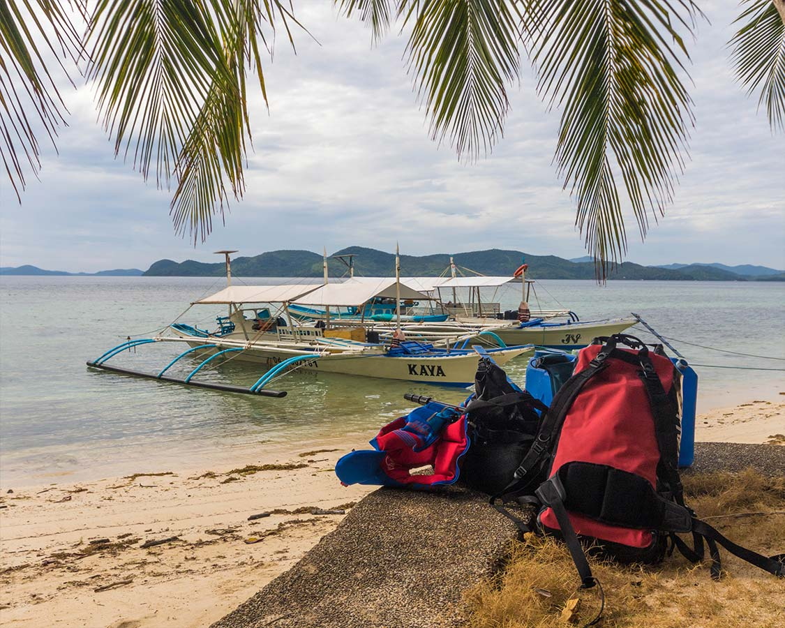 How to get to Coron Island Palawan by Bangka