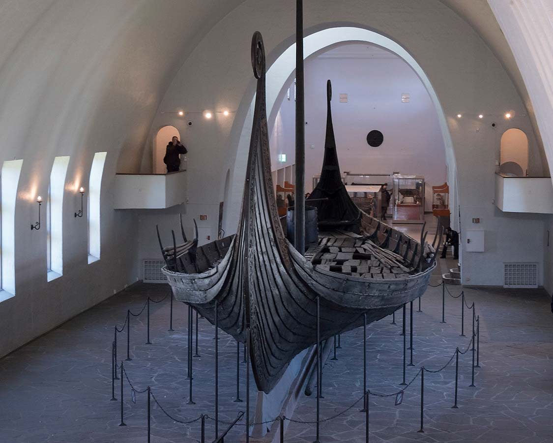 Oslo with kid-Viking Ship Museum