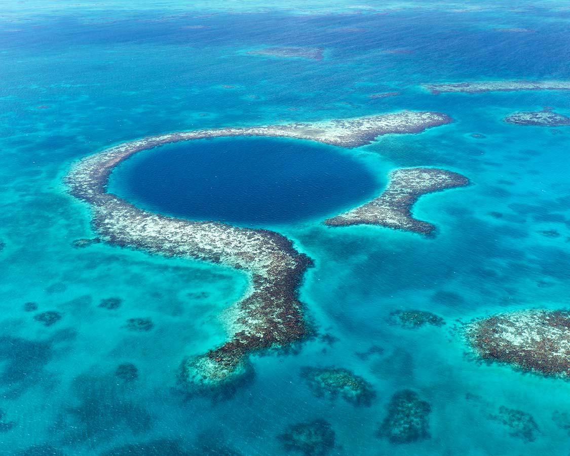 Best Diving Destinations In The Caribbean Belize Blue Hole