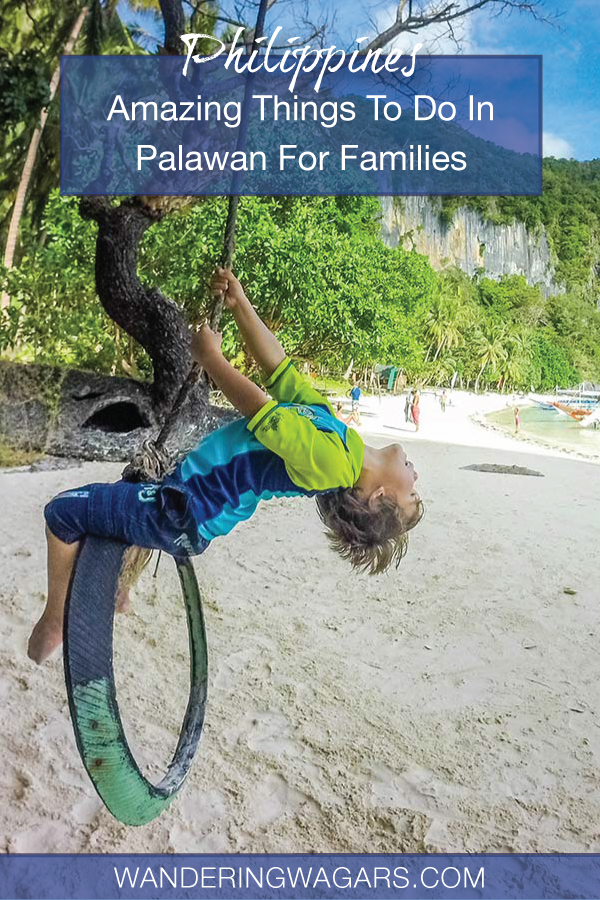 things to do in Palawan for families