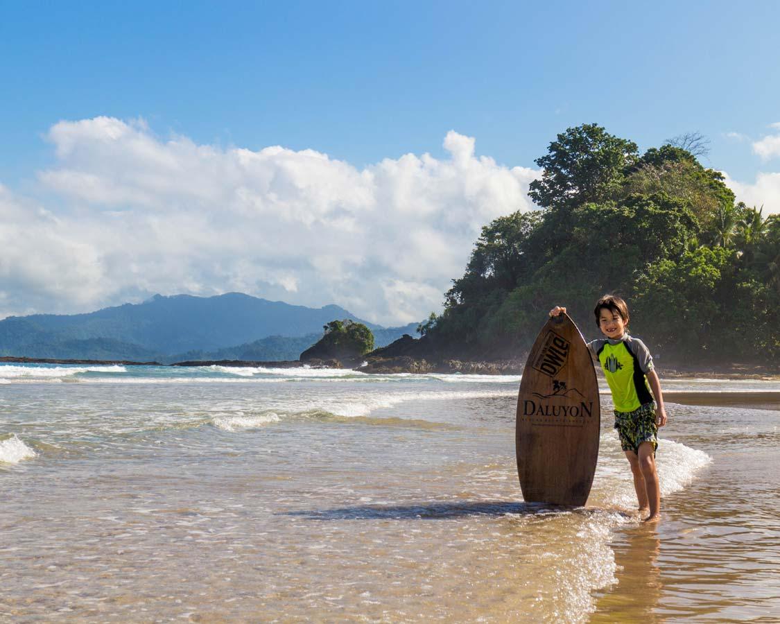 things to do in palawan with kids daluyon beach resort sabang