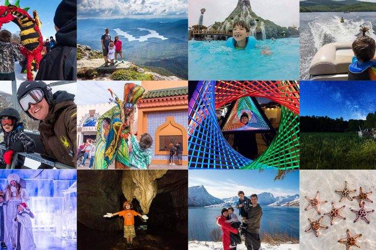 Family Travel is our passion. And our 2018 travel adventures were some of the most epic we have ever experienced. 3 continents and 6 countries of excitement