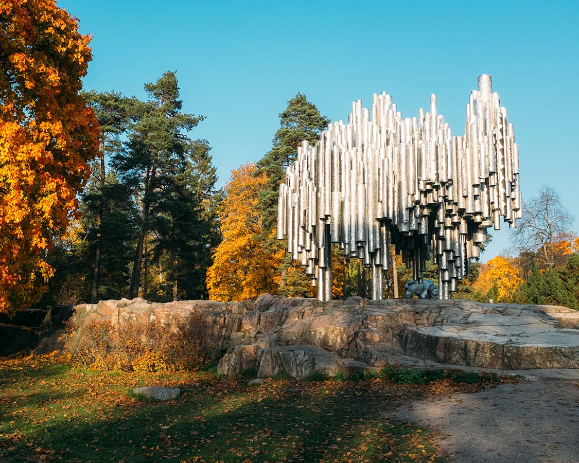 Helsinki things to do Sibelius monument