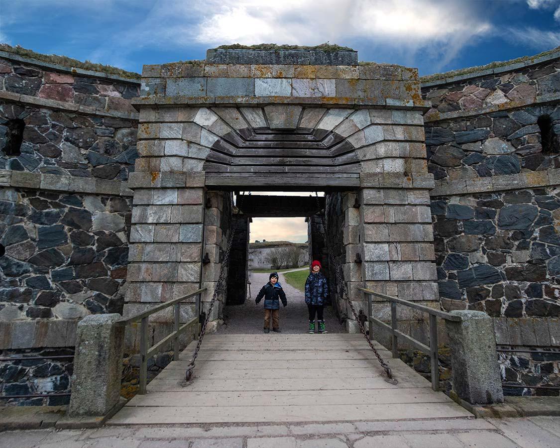 Helsinki tourist sites Suomenlinna Fortress