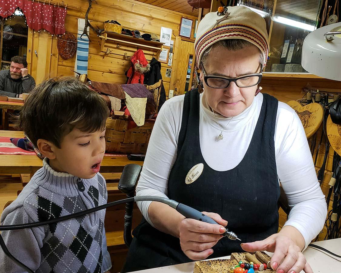 Hornwork Irene Kangasniemi things to do in Rovaniemi Finland