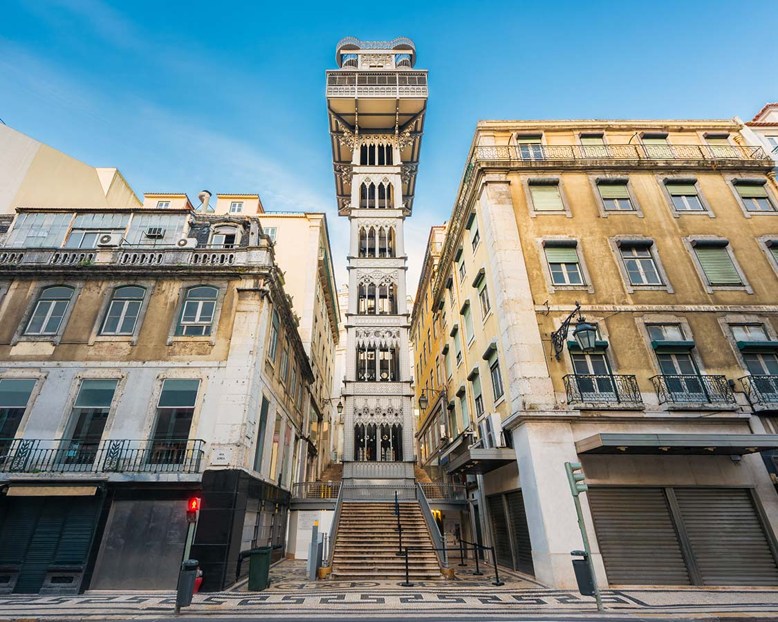 Things to do in Lisbon with children Santa Justa Elevator