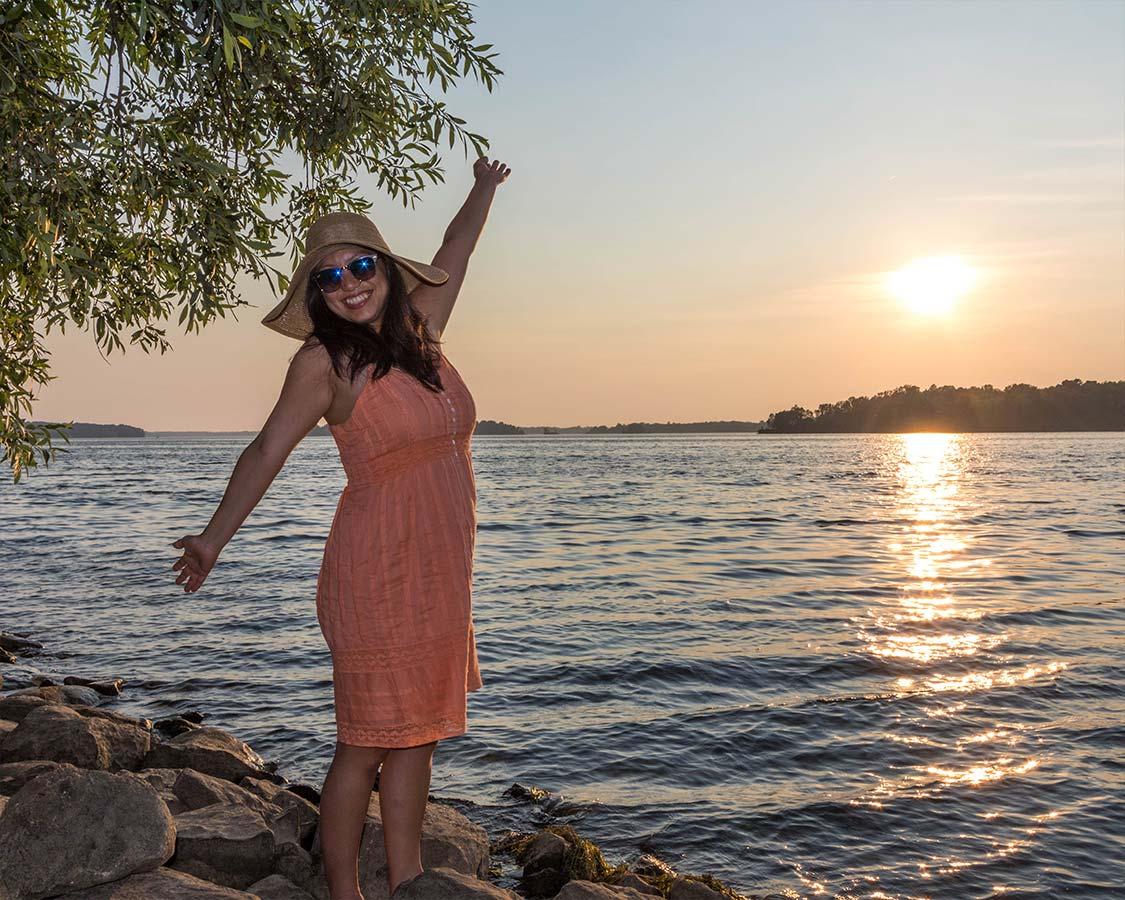 Christina Wagar at Long Sault Parkway Ontario