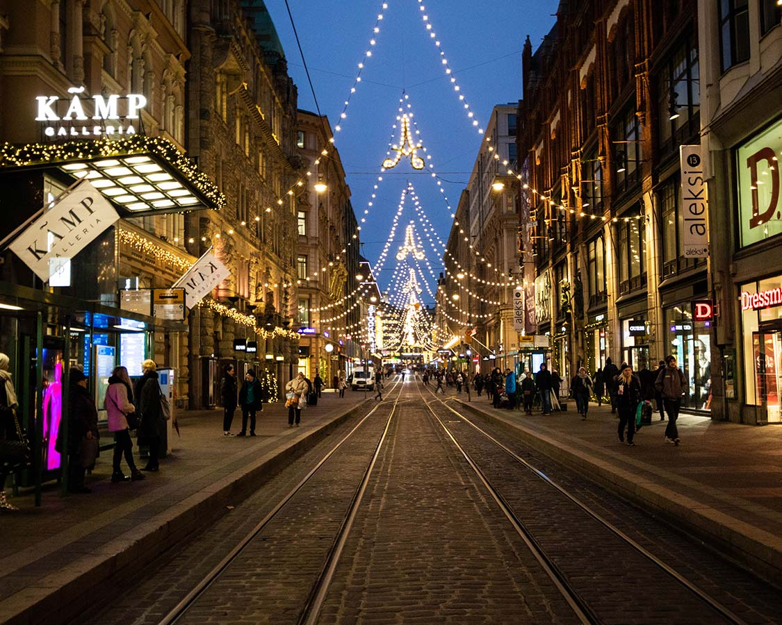 What to do in Helsinki City Center Shopping