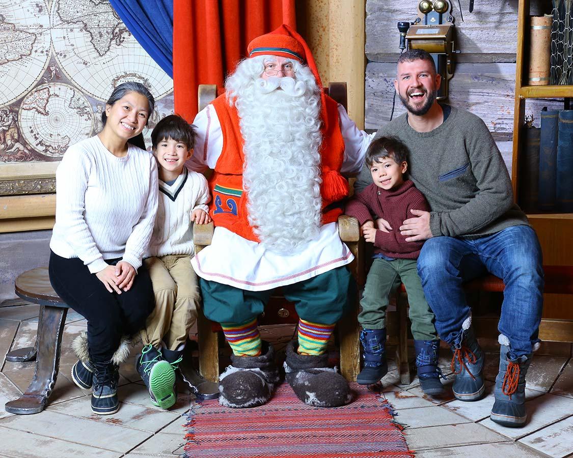 Finland Santa Village Santa Claus Experience