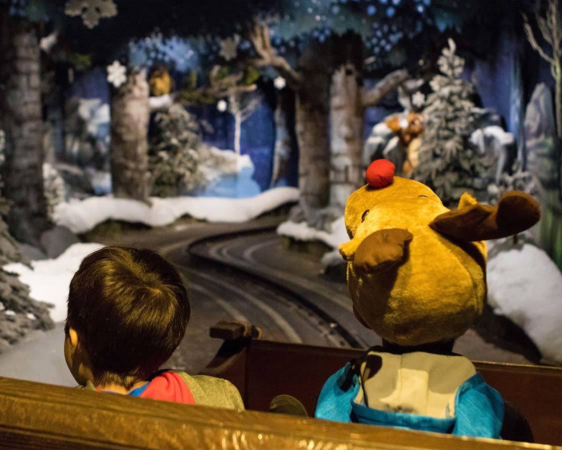 Santa Park Finland Magic Sleigh Ride
