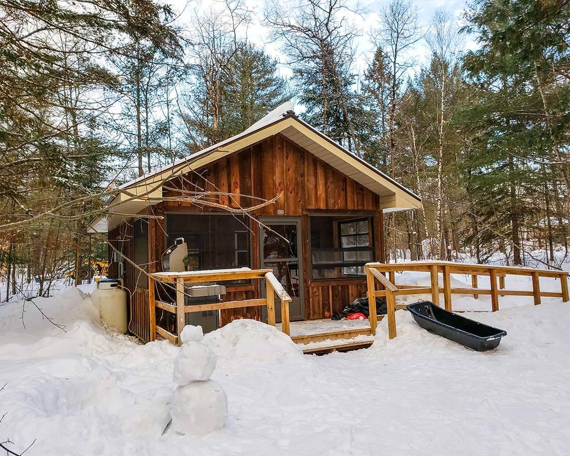 Arrowhead Provincial Park Camp Cabins