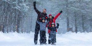 Arrowhead Provincial Park Skating Trail