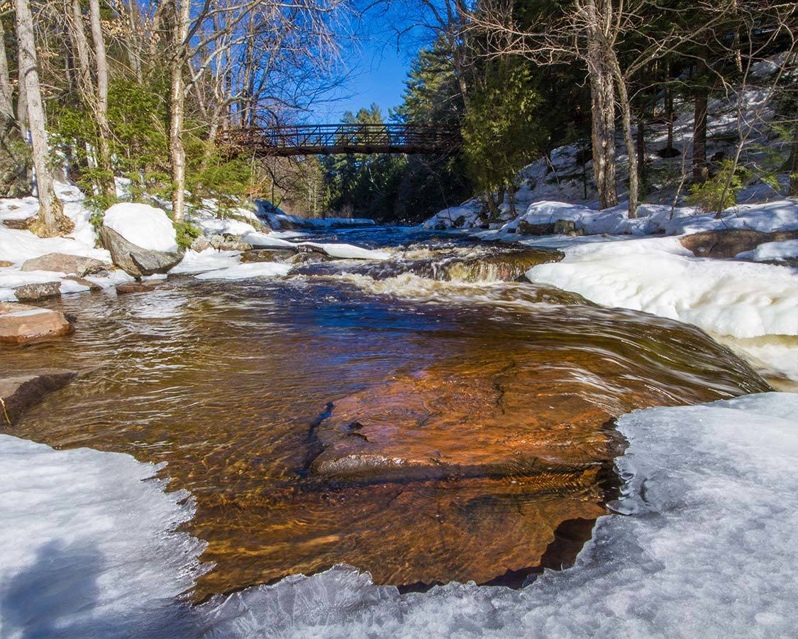 Winter In Arrowhead Provincial Park