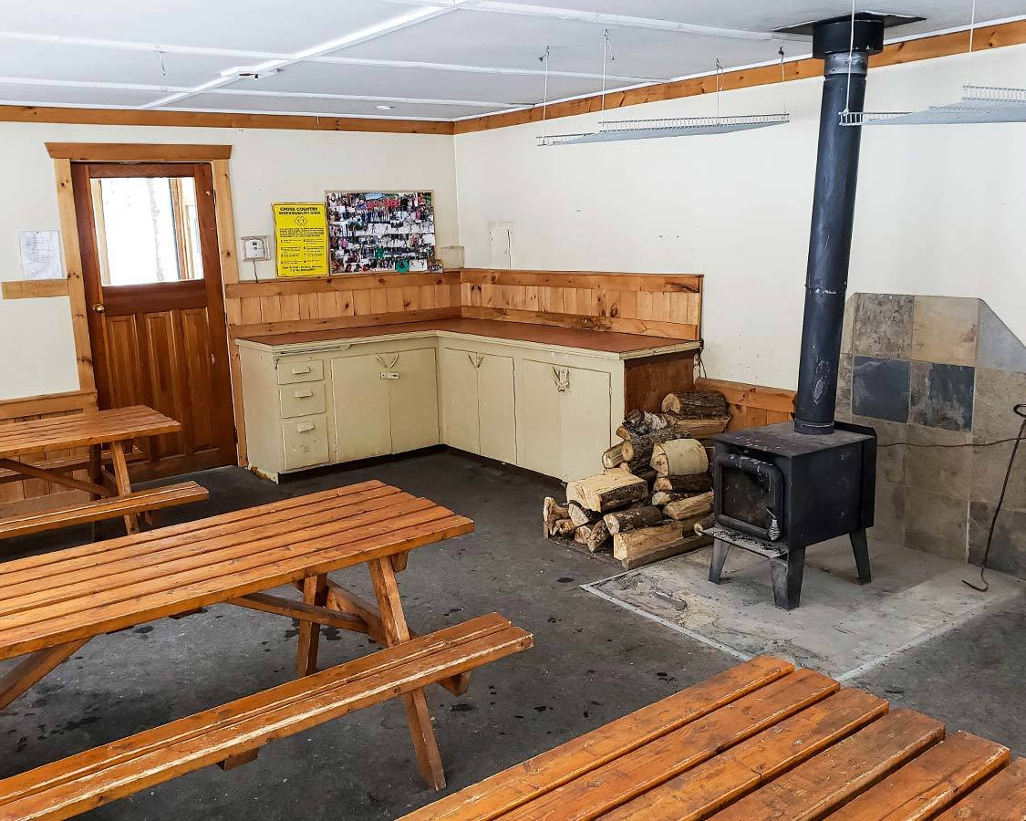 Arrowhead Provincial Park winter warming stations
