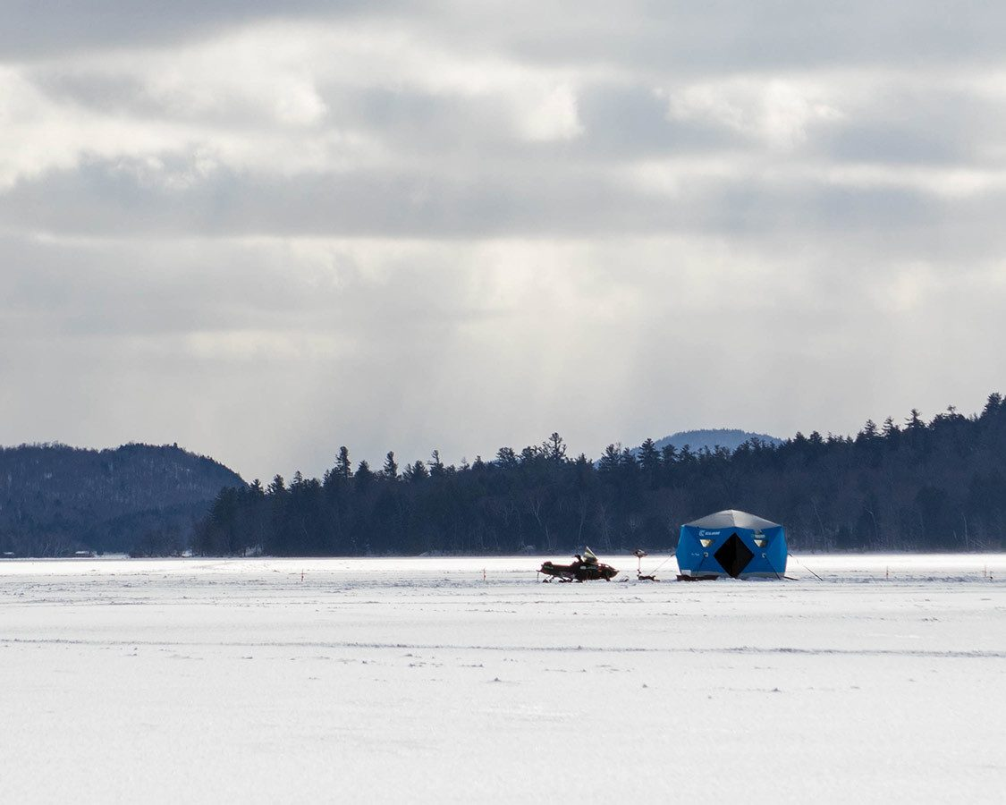Adirondack Winter Ice Fishing