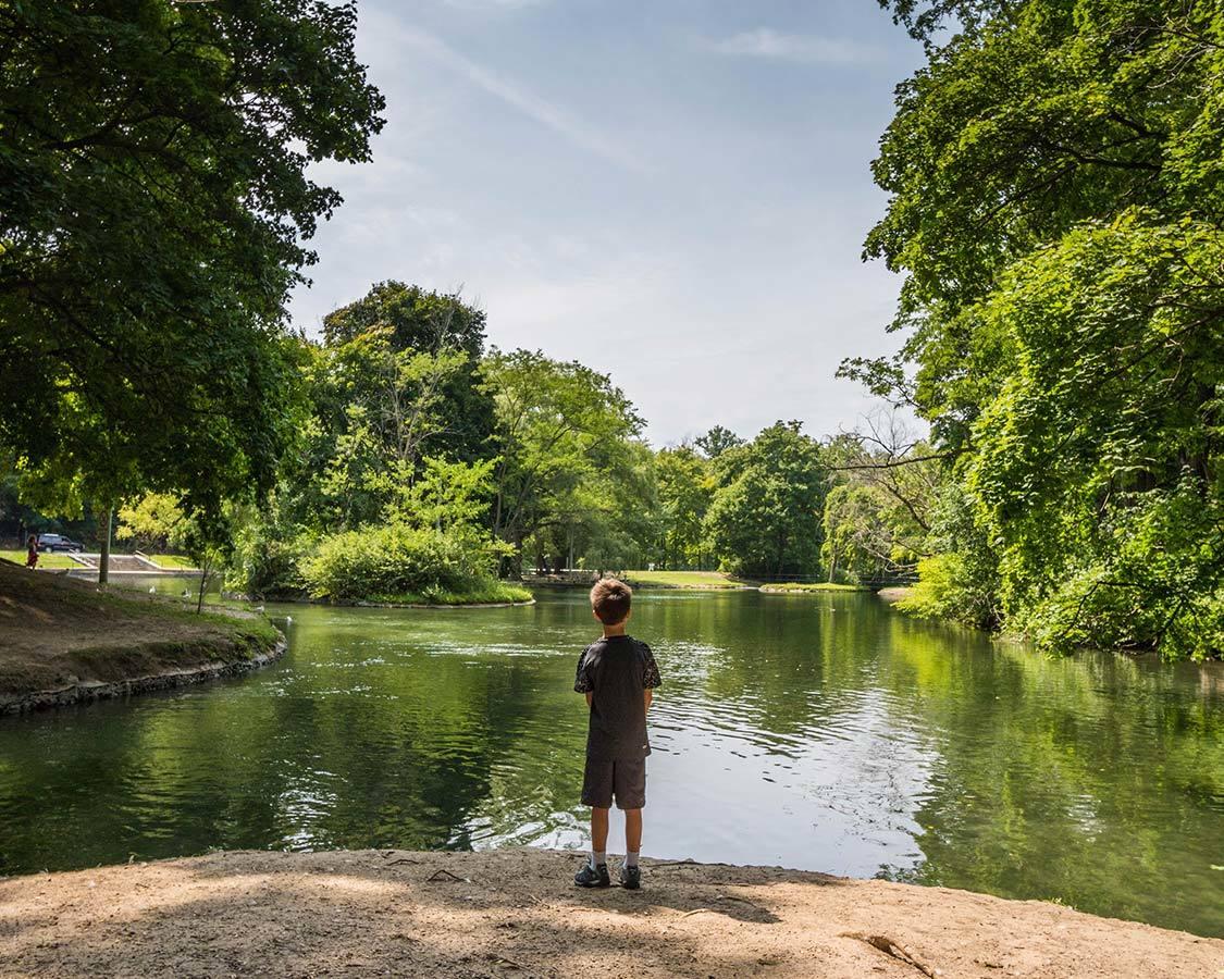 Dufferin Islands Park in Niagara Falls for kids