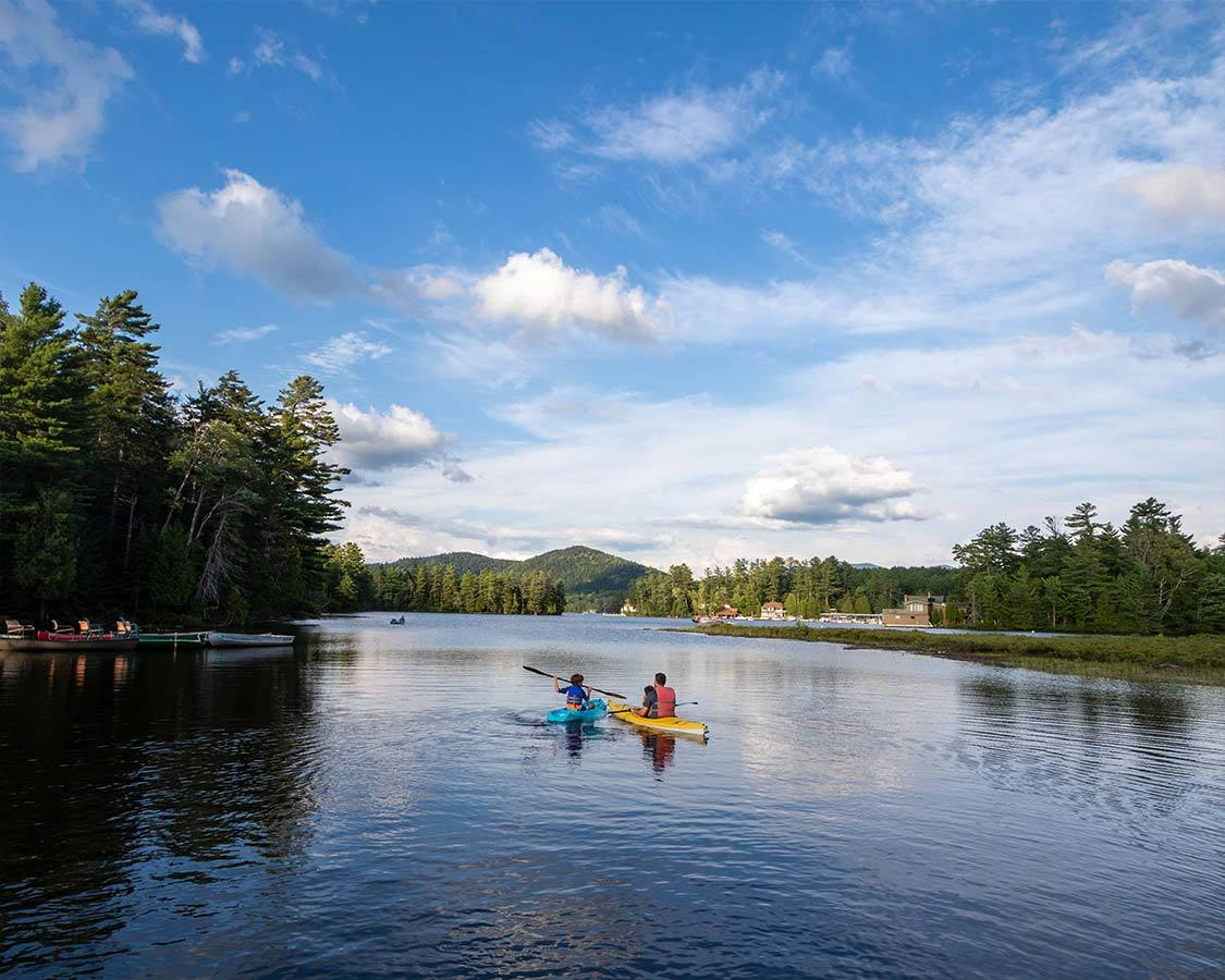 Kayak Saranac Lake things to do