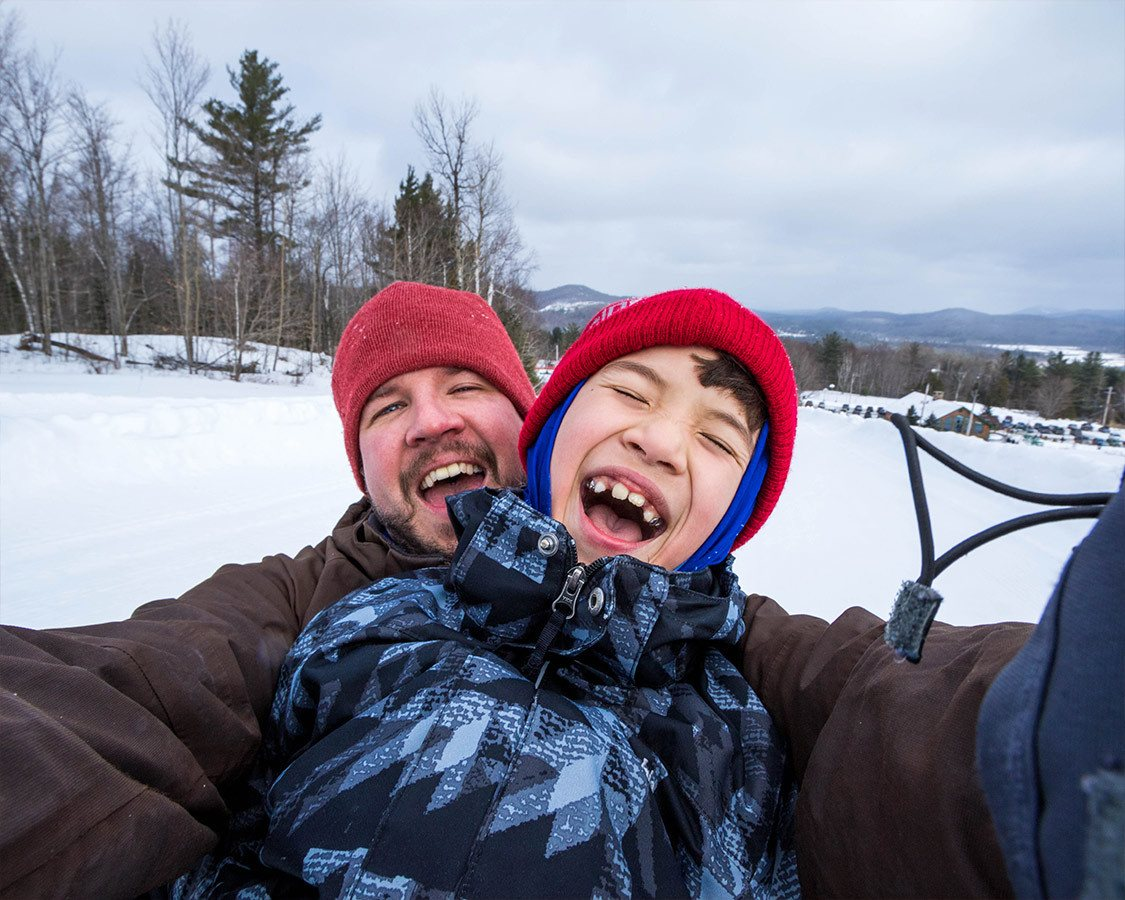 Saranac Lake Things To Do Tubing Mt Pisgah