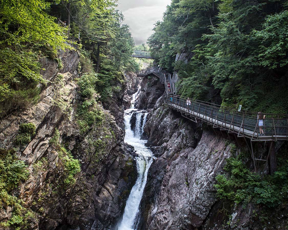 Things to do in Saranac Lake NY High Falls Gorge
