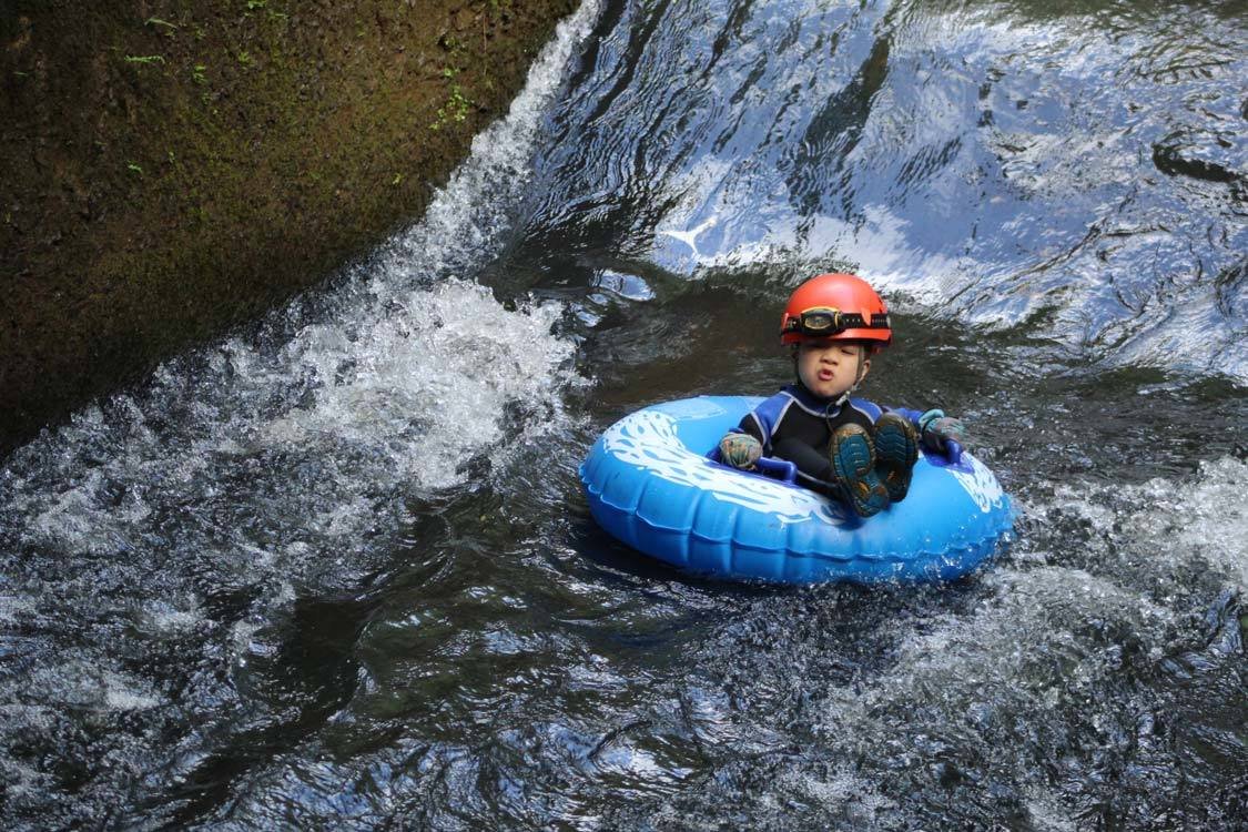 Kauai Mountain Tubing Waterfalls