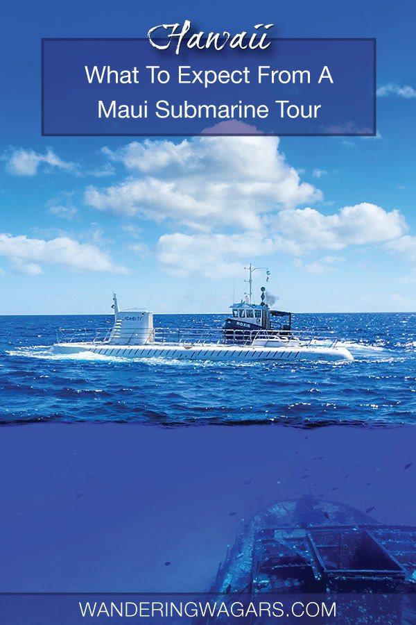 Submarine tour in Maui