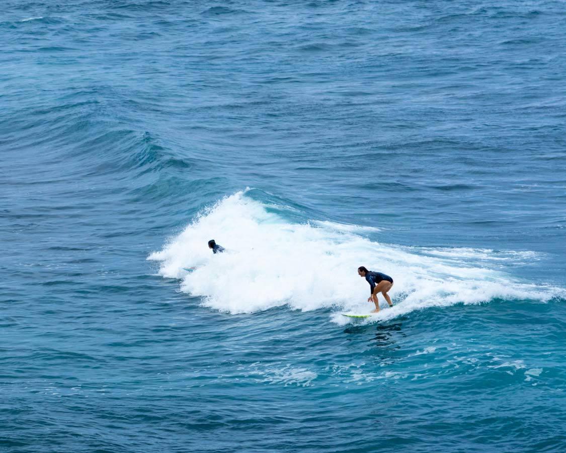 Surfer at Hookipa Beach on a Maui Itinerary 5 Days