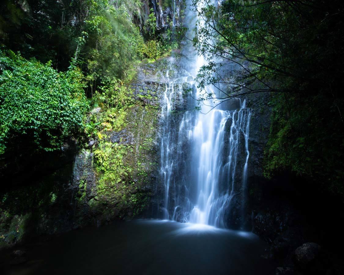 Wailua falls Hana Highway 5-days Maui itinerary