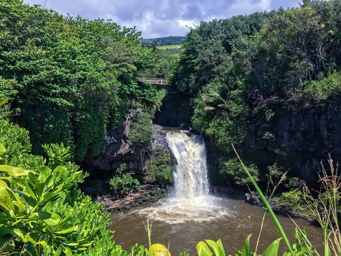 Haleakala State Park Road To Hana stops
