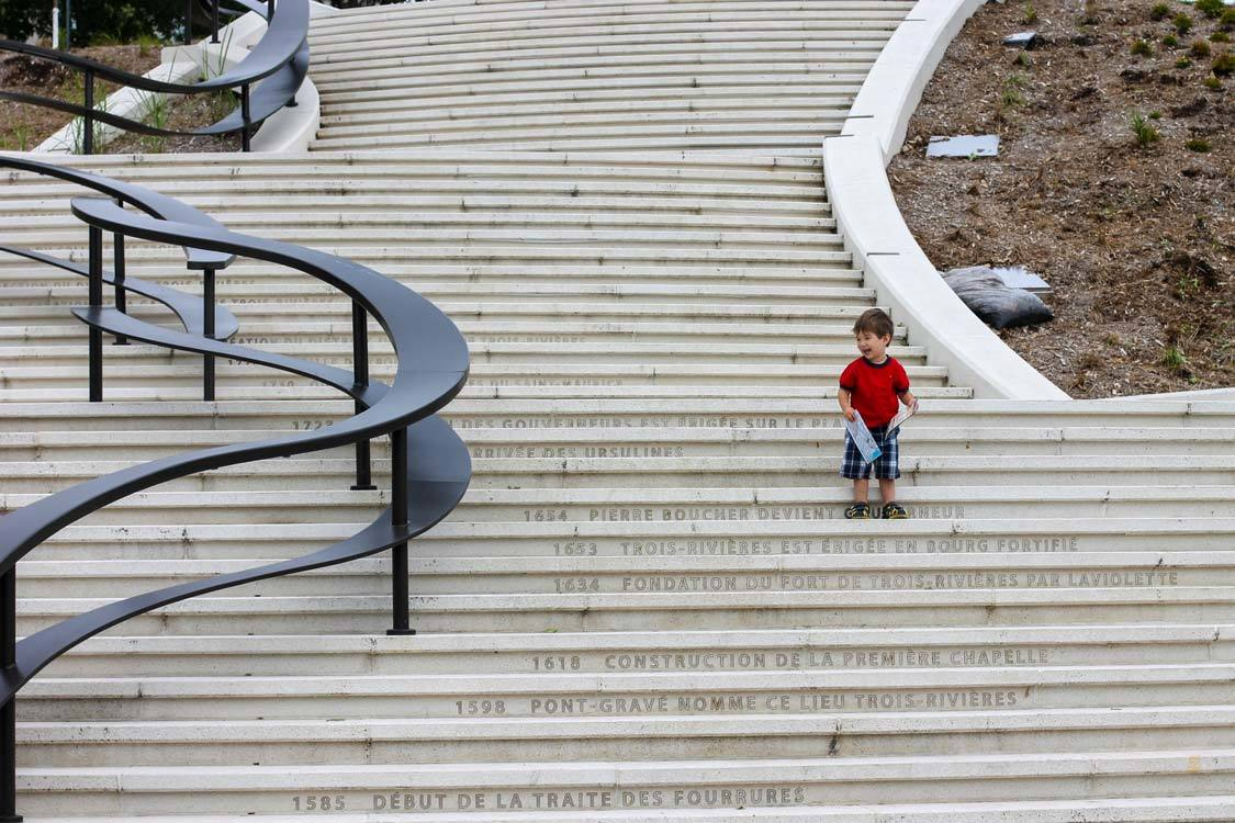 Platon Stairs in Trois Rivieres Quebec