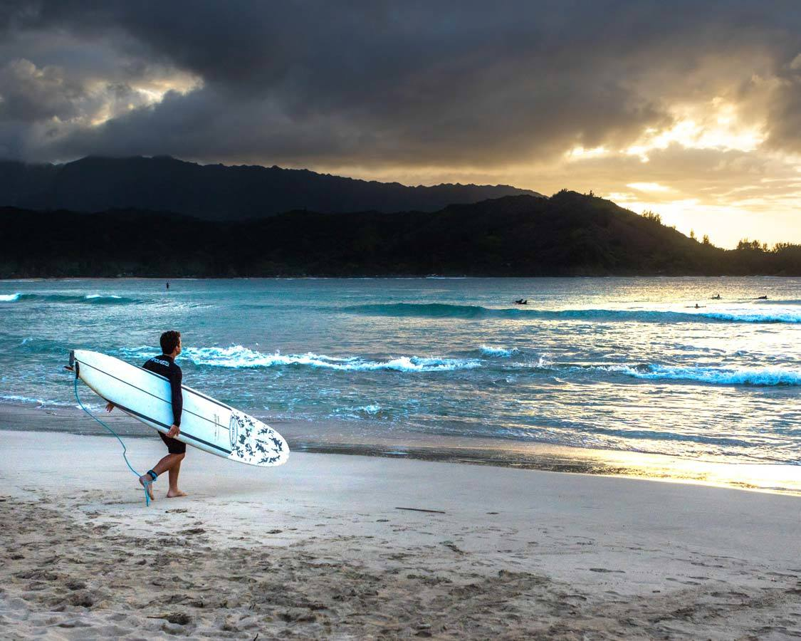Surfing for kids in Maui