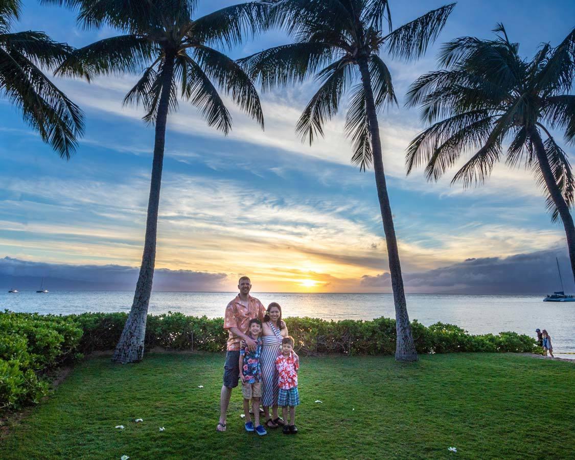 Wandering Wagar at Kanaapali Beach Resort Maui