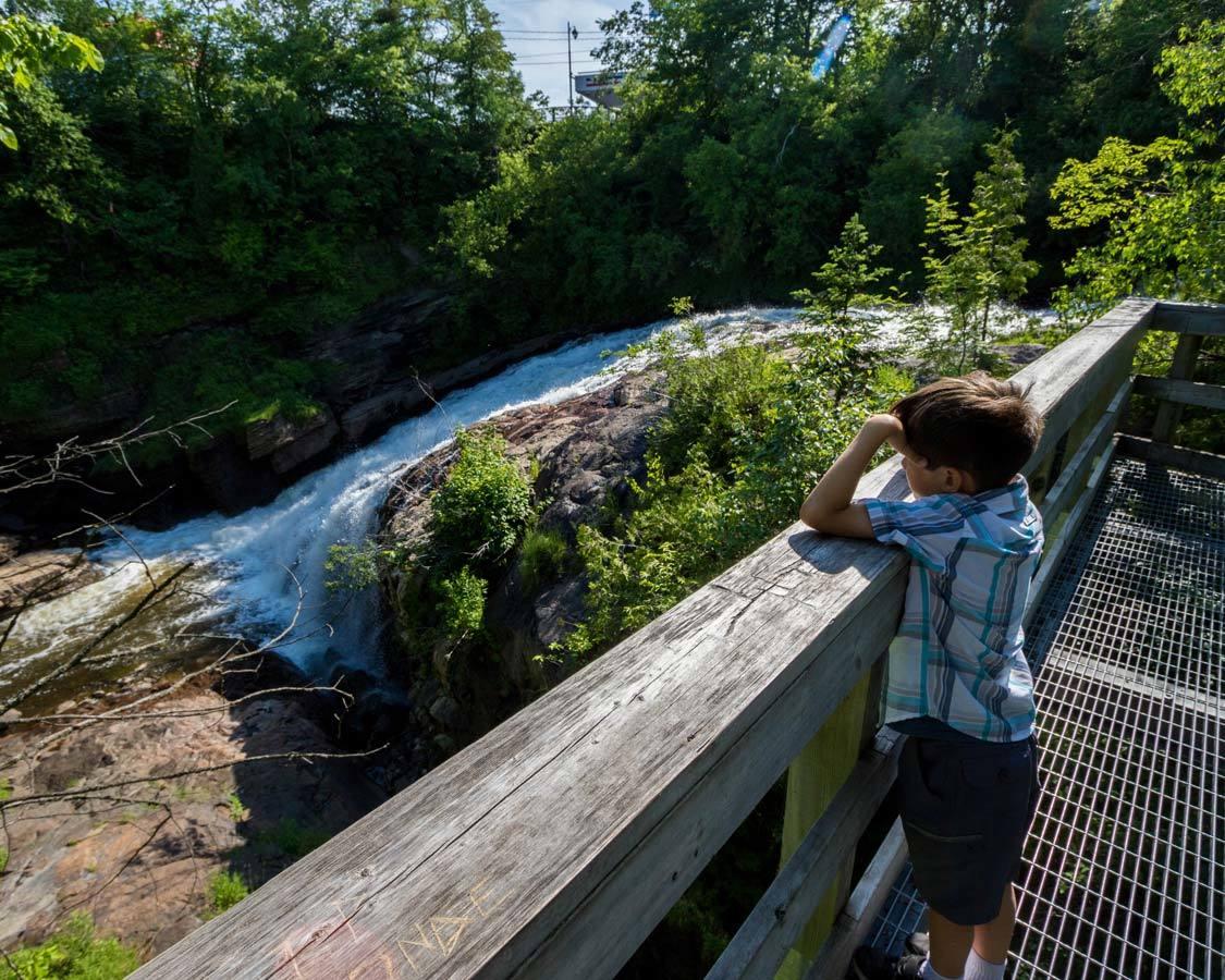 Kabir Kouba Falls Wendake Quebec