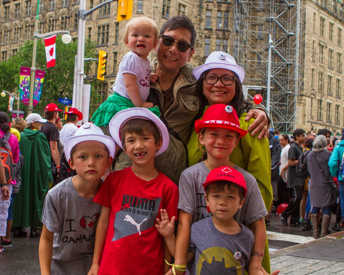 Canada Day in Ottawa with kids
