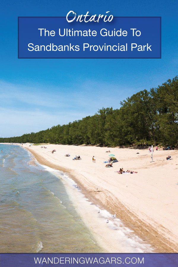 Sandbanks Provincial Park Camping