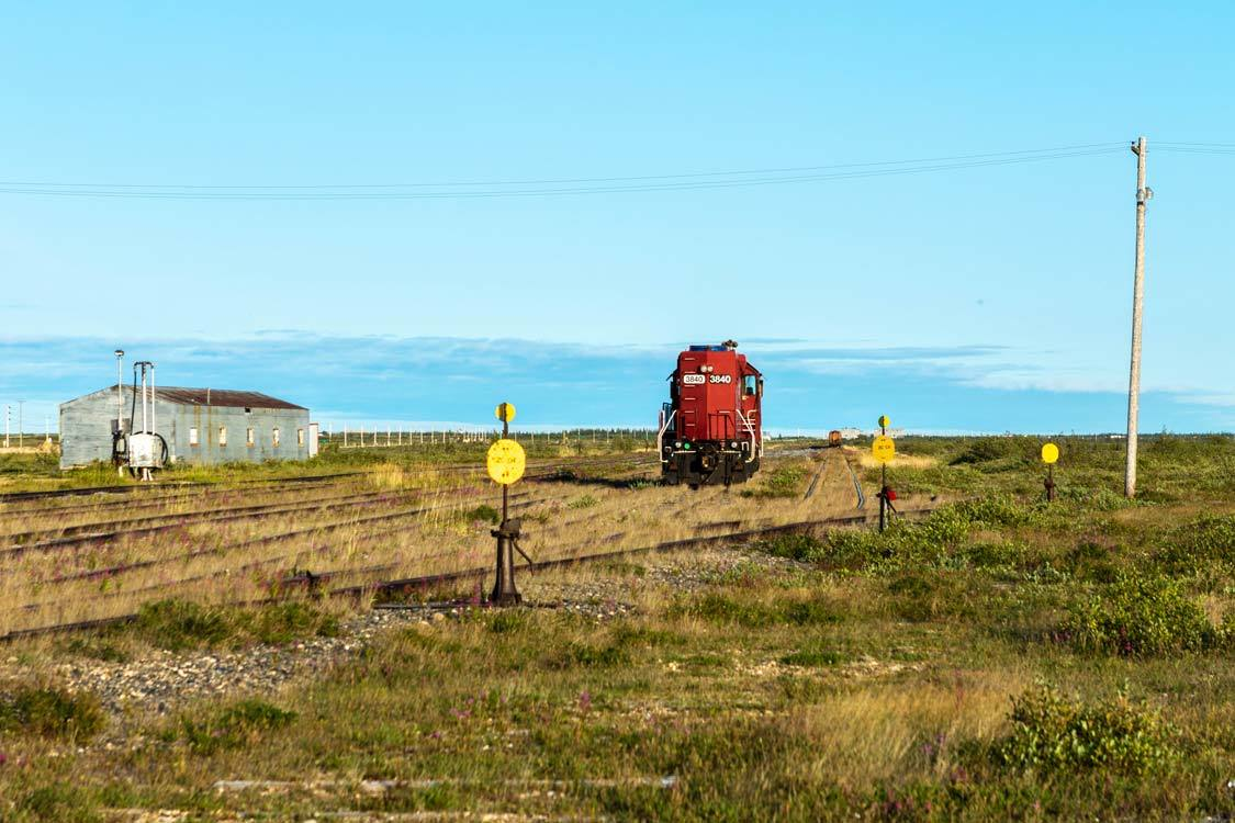 Churchill Manitoba Railyard