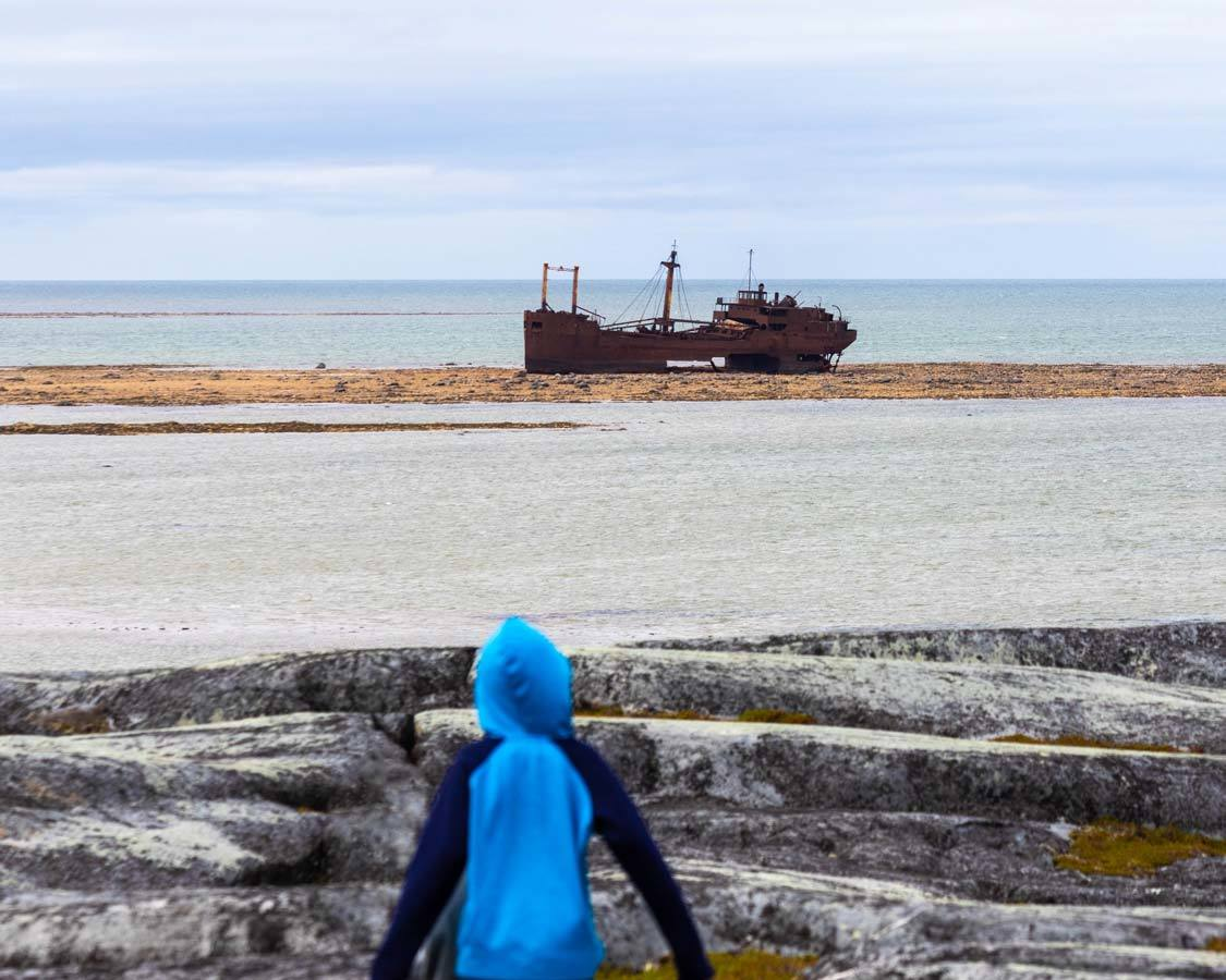 Hike To The MV Ithaca Churchill Manitoba Guide