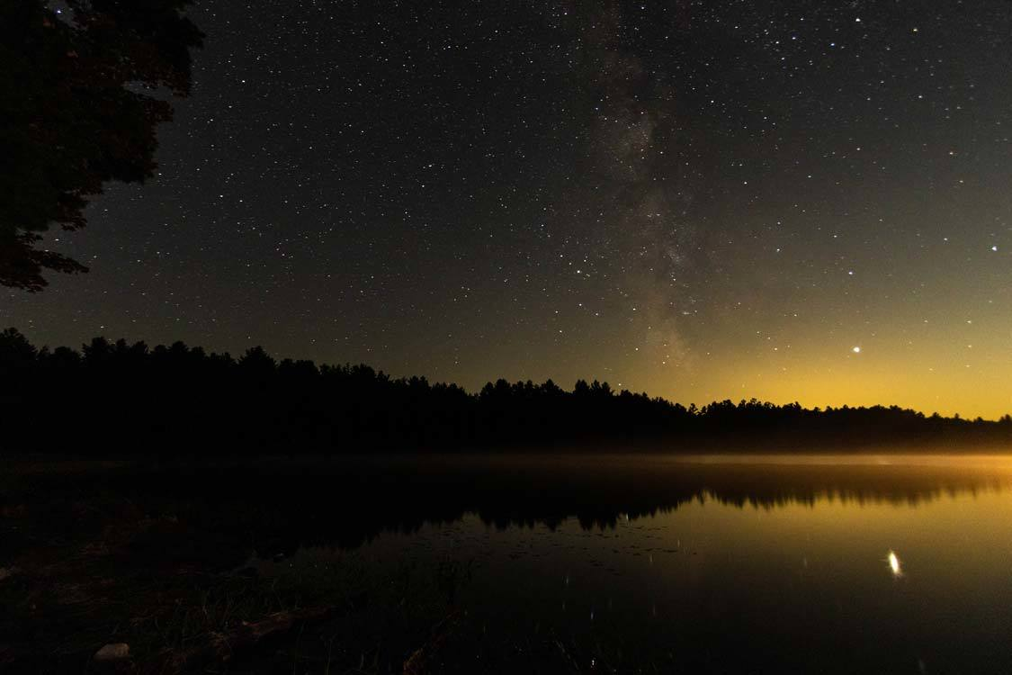 Milky Way in Kawartha Highlands Park