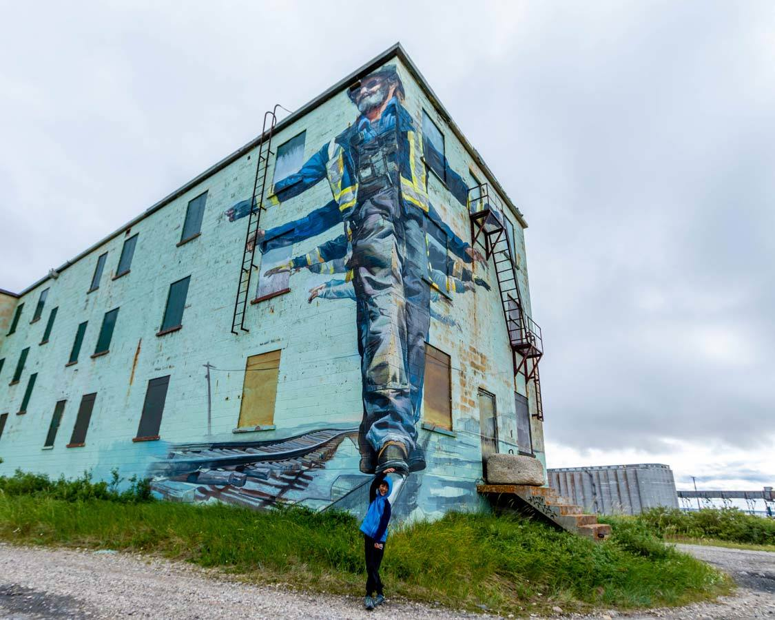 SeaWalls Churchill Mural Art guide