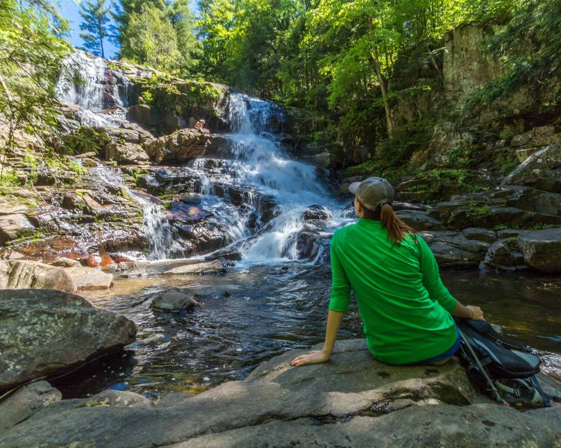 Shelving Rock Waterfall Lake George NY