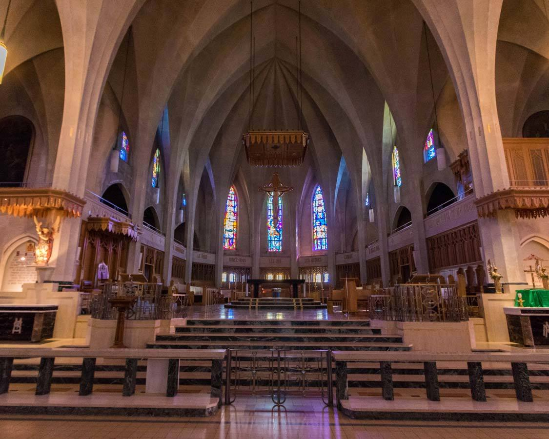 ST Michel Cathedral Sherbrook attractions